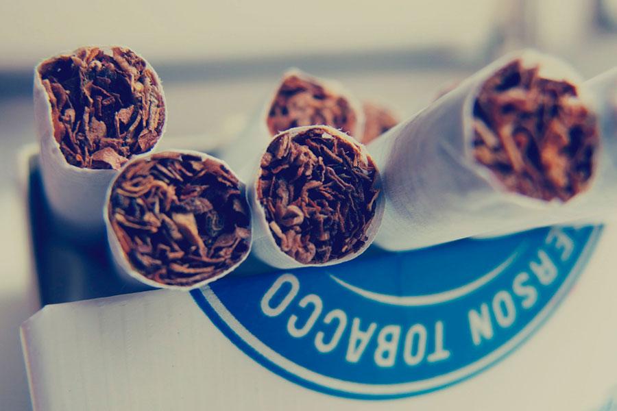Verdauungshelfer-Mythen Zigarette nach dem Essen